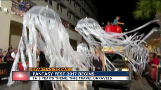 10-day Fantasy Fest begins in Florida Keys - Video