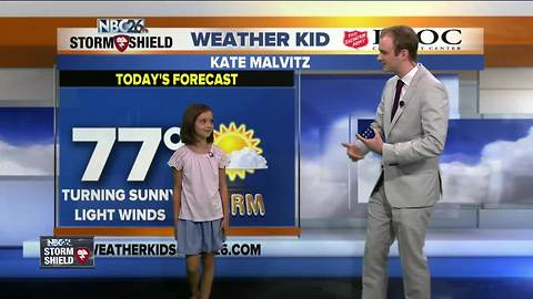 Meet Kate, our NBC26 Weather Kid of the Week!