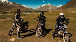 Breathtaking Footage of Motorcycling Trip Through Pakistan - Video