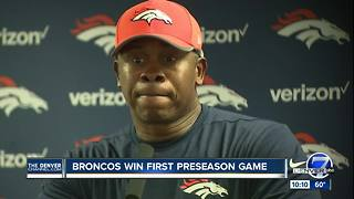 Broncos defense sets tone, steals thunder from quarterbacks - Video