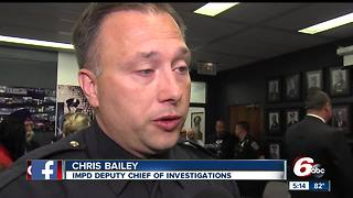 Chris Bailey promoted to IMPD Deputy Chief following James Waters' death - Video
