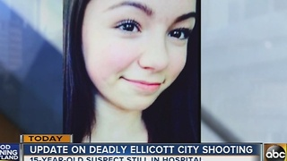 Teen suspect remains in hospital after deadly Ellicott City shooting - Video