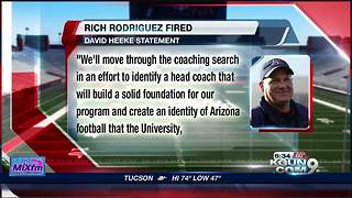 Arizona fires RichRod - Video