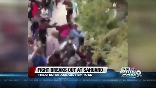 TUSD investigating Sahuaro High School fight