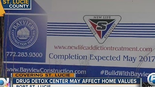 Drug detox center blamed for hurting home sales - Video