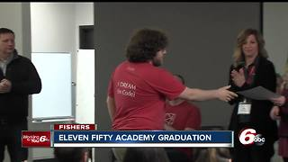 Students in Fishers graduate from coding academy - Video