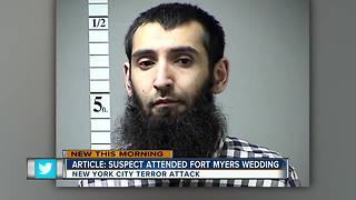 Report: NYC terror suspect attended Fort Myers wedding - Video