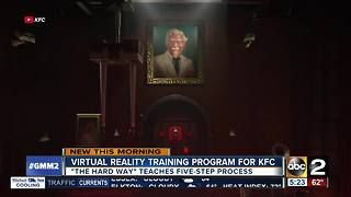KFC offers trainees VR training lesson - Video