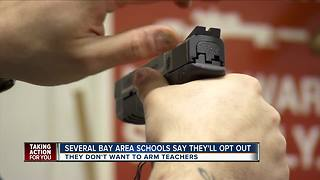 Nearly all Tampa Bay area school districts opposed to arming teachers - Video