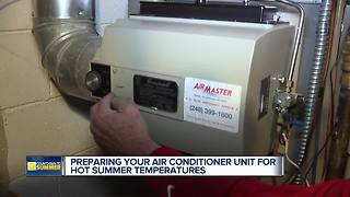 Getting your air conditioner ready for summer - Video