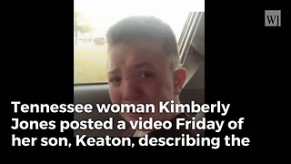 Video Of Bullied TN Boy Captures Hearts Across America - Video