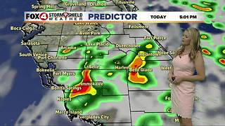 FORECAST: Showers and Storms Through the Weekend