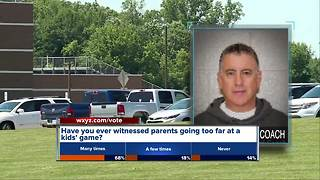 Parent charged after slashing coach's tires during Troy High School basketball game - Video