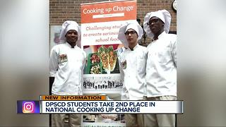Detroit HS students cook up change - Video