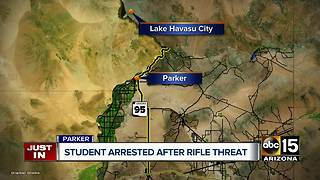 Parker high school student arrested for gun in truck