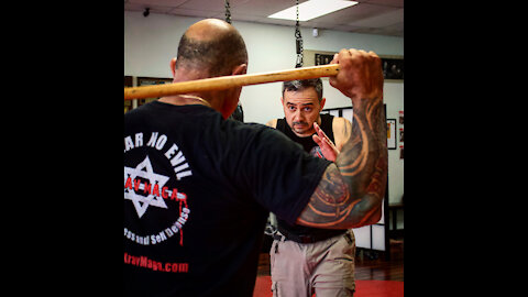 Defend against the angry mob, thugs and rioters with Krav Maga