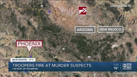 Murder suspects arrested in Arizona, after leading authorities on a chase