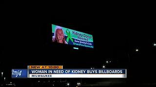 'Save Jessica's Life': West Allis woman puts up billboards to find kidney - Video
