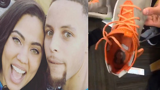 Steph Curry Shows Off Ayesha's Mother's Day Gift - Video