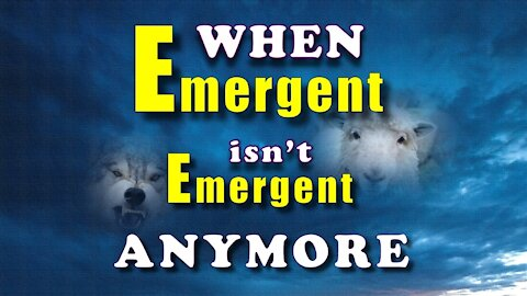 When Emergent isn't Emergent Anymore (trailer) by Eric Barger