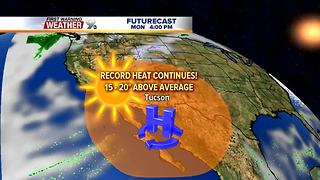 FORECAST: Temperatures remain well above average - Video
