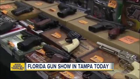 Weekend Gun Show in Tampa reveals varying views on Scott's school safety proposal
