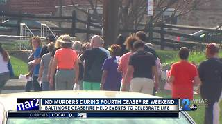 No murders during fourth ceasefire weekend - Video