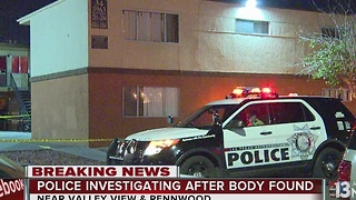 Police investigate homicide in central valley - Video