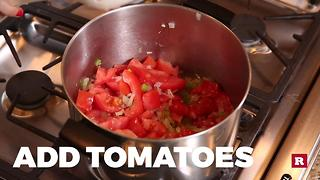 How to make chicken tortilla soup | Elissa the Mom - Video