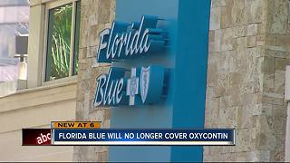 Opiod Crisis: Florida Blue Refuses To Cover Oxycontin In 2018 - Video
