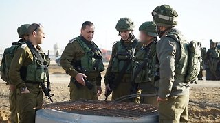 Israel Says It Destroyed A 'Terror Tunnel' To Egypt, Gaza Strip - Video
