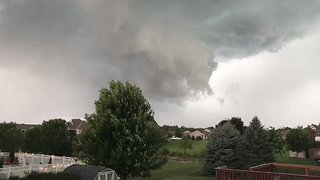 Sirens Sound in Tornado-Warned Brookings, South Dakota - Video