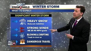Michael Fish's NBC26 Winter Storm forecast - Video