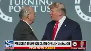 Trump Reacts To Rush Limbaugh's Passing