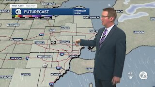 Another light snow tomorrow