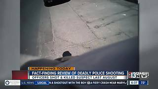 Fact-finding review of August shooting - Video