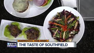 The Taste of Southfield to be held October 10th - Video