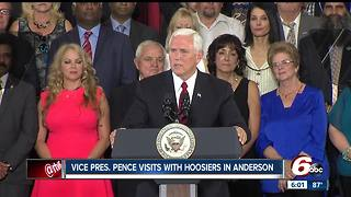 VP Pence talks need for tax reform during Indiana visit - Video
