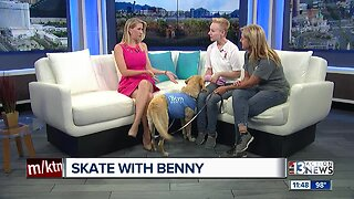 """Skate With Benny"" fundraiser for The Animal Foundation"