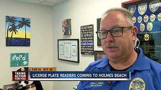 Holmes Beach approves license plate readers