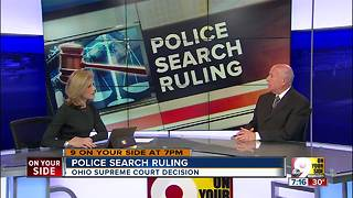 Police search ruling - Video