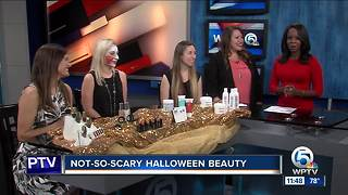 Not-so-scary Halloween beauty tips - Video