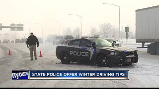 Winter weather proved dangerous for drivers - Video