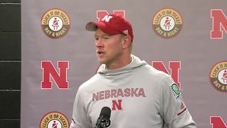 Scott Frost gives emotional post game presser following loss to Purdue - Video