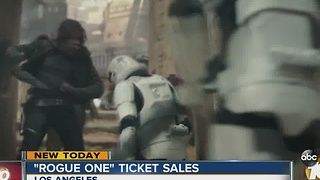 """Rogue One"" tickets on sale"