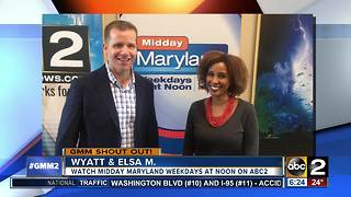 Good morning from the hosts of Midday Maryland - Video