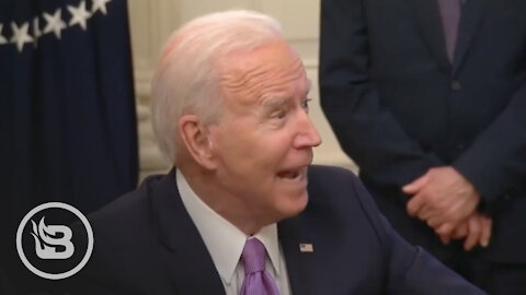 Biden SNAPS At Reporter For Asking a Single Challenging Question