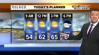 13 First Alert Las Vegas Weather For January 15th Morning - Video