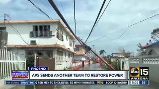 APS crews heading to Puerto Rico to help restore power - Video