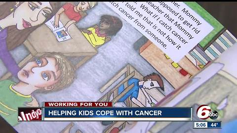 Boy and his mother write a book to help kid cope with cancer